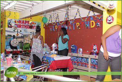 Birthday Party at Funstation