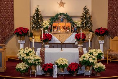 St. Francis Church at Christmas 2020