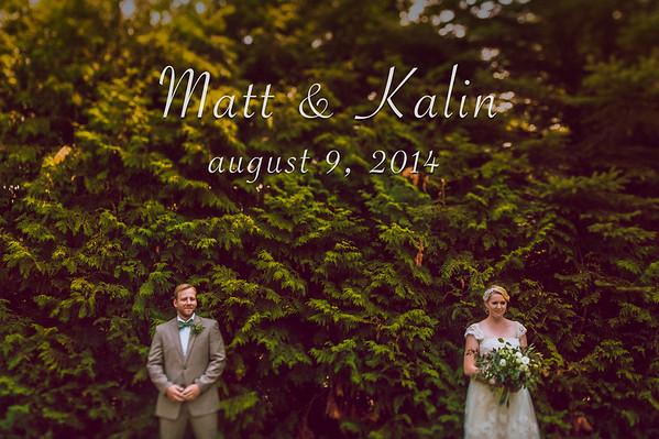 Kalin & Matt