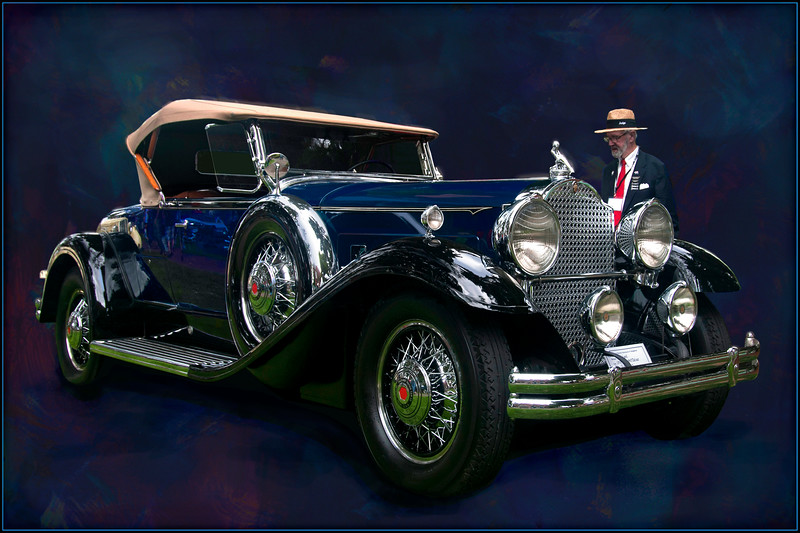 1931 packard 840 delux