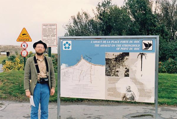 Pointe du Hoc Oct 17, 1992
