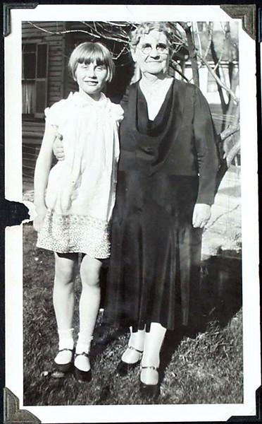 Virginia Turner and her Great-Aunt Laura Turner Harris