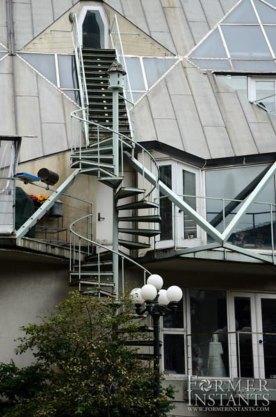 Outdoor Circular Stairs
