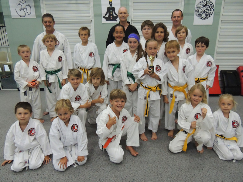 Combat Karate Junior Student of the Month Award - Tarah Shelley November 2012