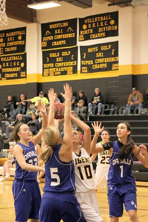 Girls Basketball, Danville vs New London 1/19/2013