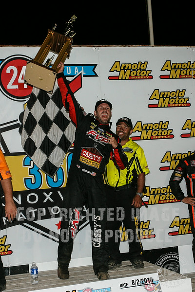 08.01.14 Knoxville Raceway 360 Nationals