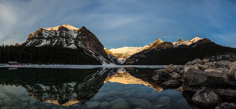 Lake Louise Sunrise