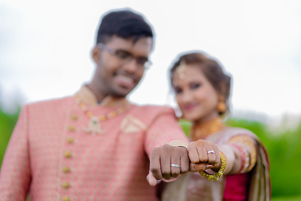 Praneet  Sunayana Wedding Reception