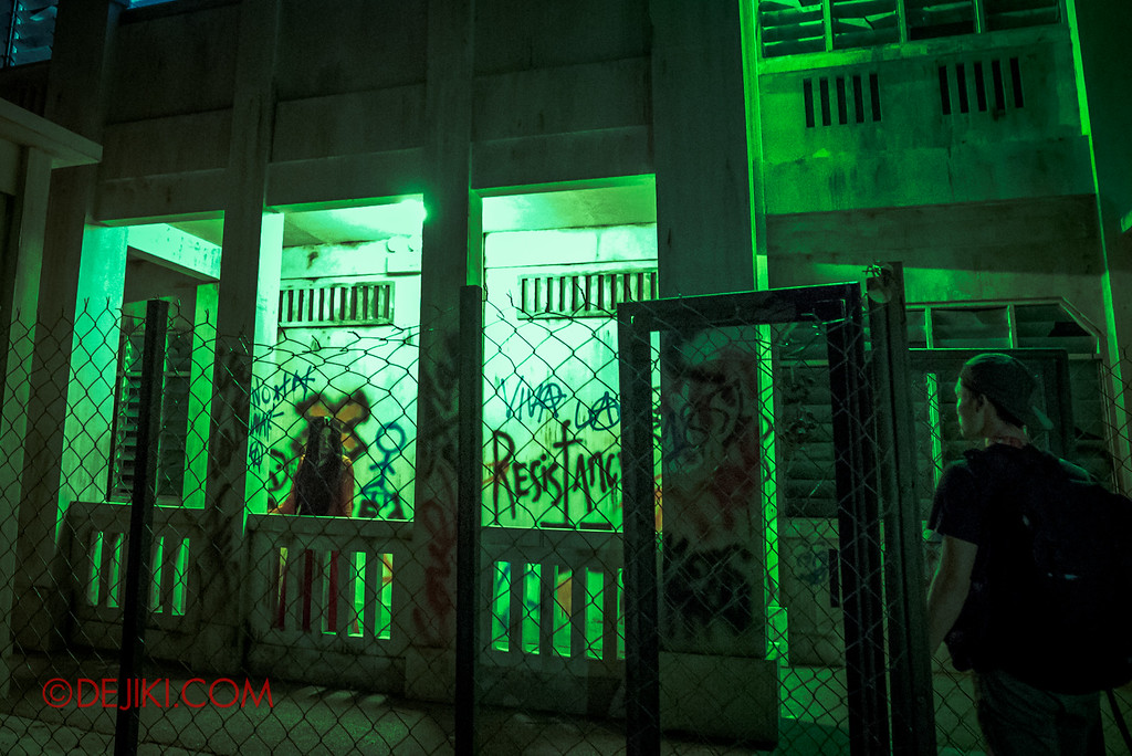 Halloween Horror Nights 6 - Old Changi Hospital / The Woman in Red