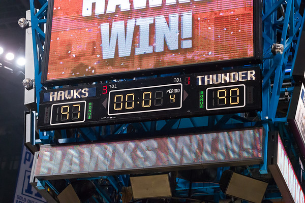 2012 Atl. Hawks vs OKC