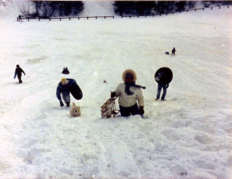 1987 12 05 - Sledding at Timberline Park 002.jpg