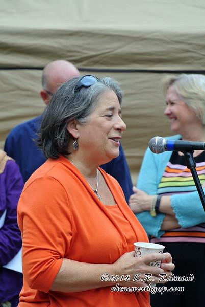 Mayor Madeline Rogero