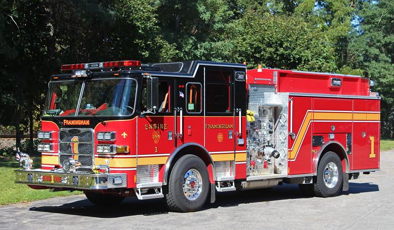 Engine 1 2014 Pierce Arrow 1500 / 750