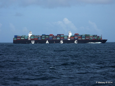 Ships at Sea from FUNCHAL Apr 2014