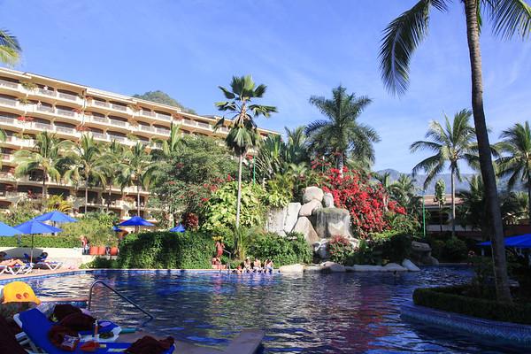 Barcelo resort, Puerto Vallarta Mexico - January 2011