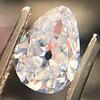 1.03ct Antqiue Pear Shape Diamond, GIA D VS1 1