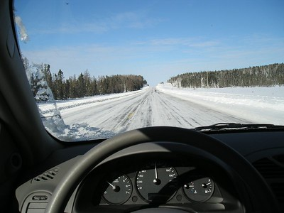 Ice Racing in Thunder Bay 03.07.05