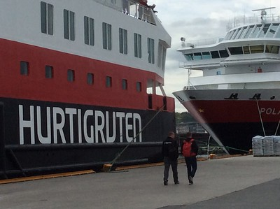 2017 - Hurtigruten cruise