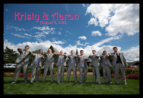 Kristy Johnson & Aaron Lauzon Wedding Gallery