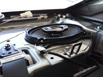 2015 Toyota Camry SE Rear Deck Speaker Installation - USA