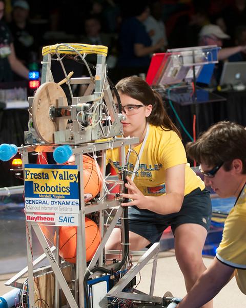 FIRST Robotics 2011 -- 2012