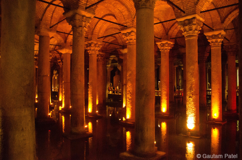 The Basilica Cisterns, Istanbul : Turkey June 2012