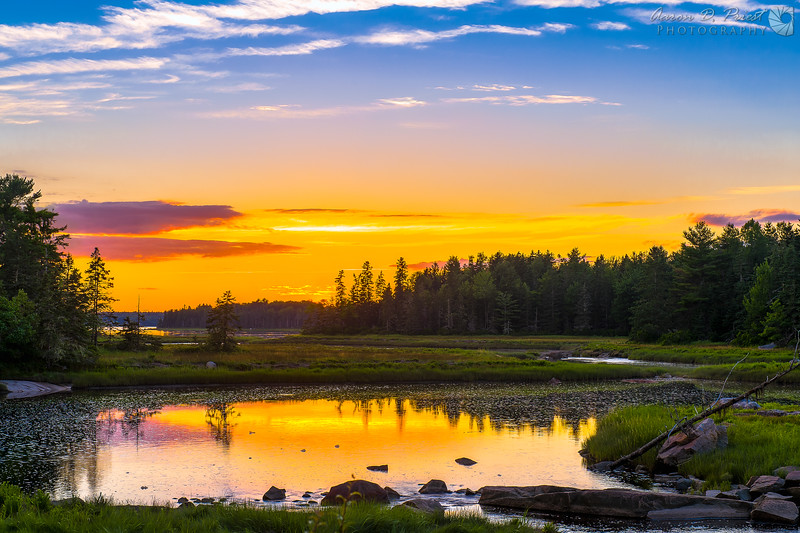 North East Creek, Bar Harbor, Maine July 24, 2014, 8:02 PM