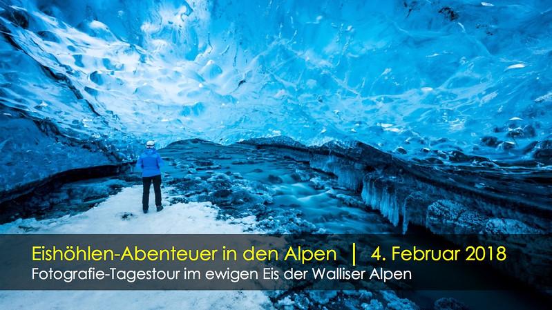 Fotografie-Tagestour im ewigen Eis der Walliser Alpen