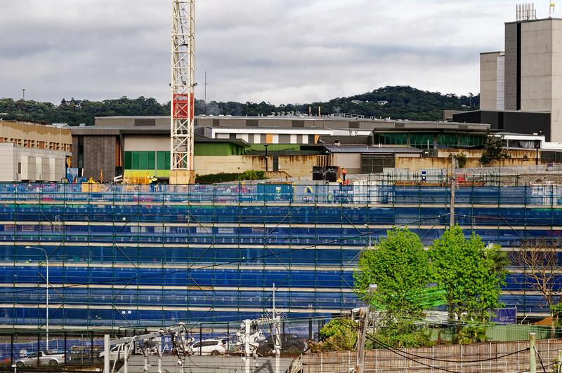 Gosford Hospital building progress H52ed October 2018.