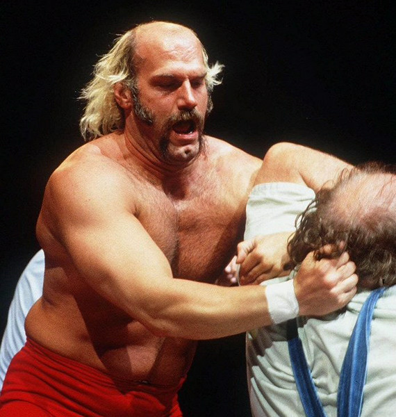 . <p>12:51 P.M.  </p><p>Phone rings. Accepts congratulatory call from Superstar Billy Graham. Tells him he can�t loan him any money.  </p><p>   (AP photo/Titan Sports,WWF)</p>