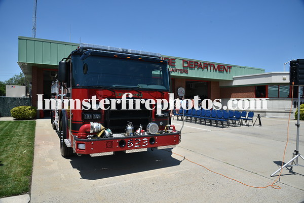 LEVITTOWN ENGINE 623 WET DOWN CEREMONY