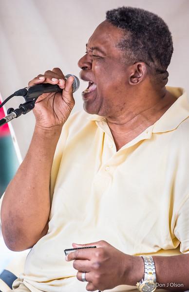 Big George Jackson--Lowertown Blues Festival 2015-Mears Park-St. Paul MN