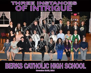 Cast Photo - Three Instances of Intrigue