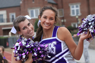 Football and Cheer JV 2011