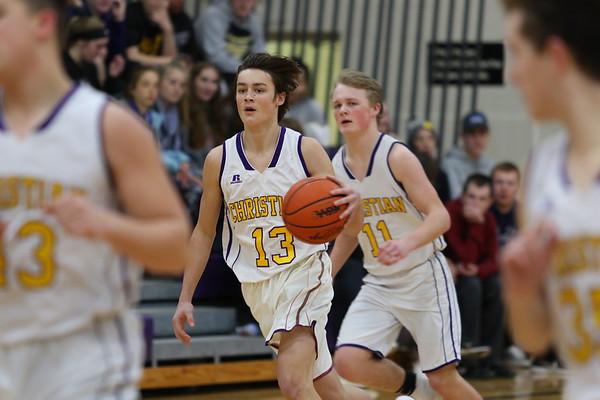 Basketball Boys JV vs Hackett - KCHS 2/21/19