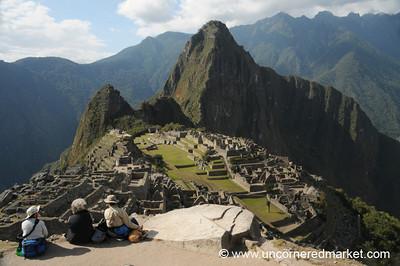 Incan Ruins at Machu Picchu, Peru