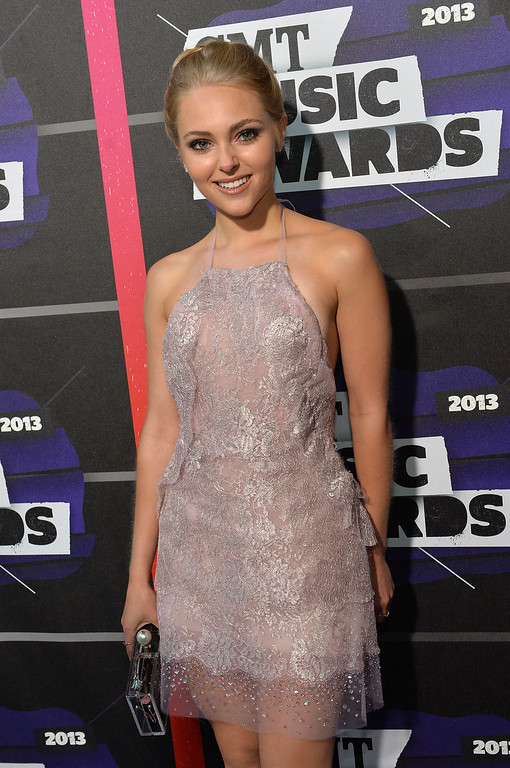 . NASHVILLE, TN - JUNE 05:  Actress AnnaSophia Robb attends the 2013 CMT Music awards at the Bridgestone Arena on June 5, 2013 in Nashville, Tennessee.  (Photo by Rick Diamond/Getty Images)