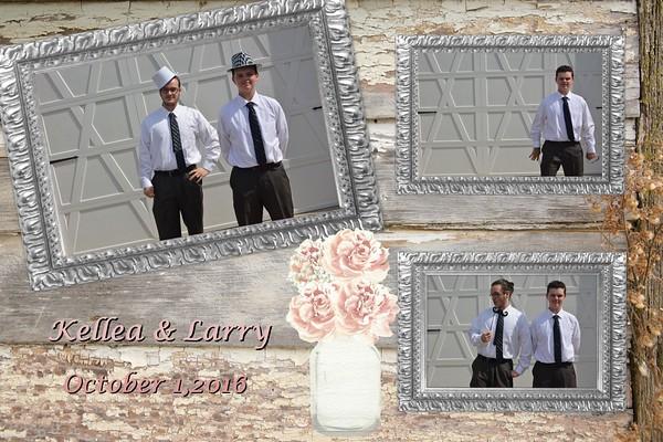 Kellea and Larry's Wedding