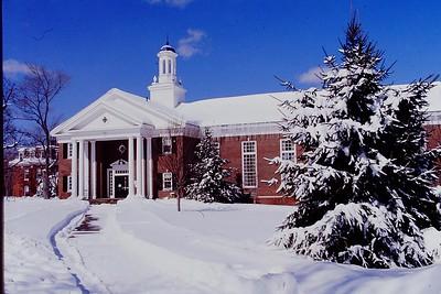 Campus exteriors 1990 - '95