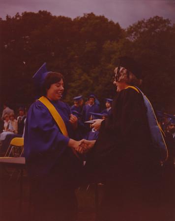 1980 06 Robin Weiner, AHS Graduation