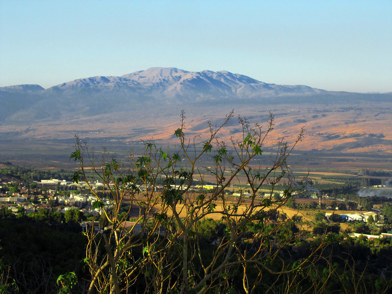 08-Mt Hermon 50K north of Safed. The Book of Judges indicates this entire region was assigned to the Tribe of Naphtali.