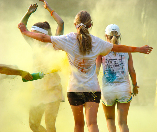 Color Run in Philadelphia 2012
