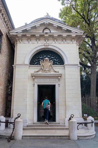 Dante's tomb in Ravenna