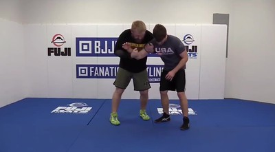 Two on One Foot Sweep