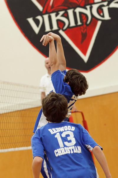RCS MS Boys' Volleyball  vs VCC - April 08, 2011
