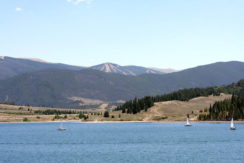 Lake Dillon looking towards Keystone