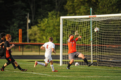 8-27-20 BHS Boys Varsity Soccer vs Elida (tournament)