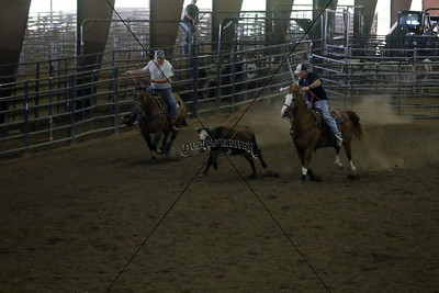 Llano County Team Roping First Go