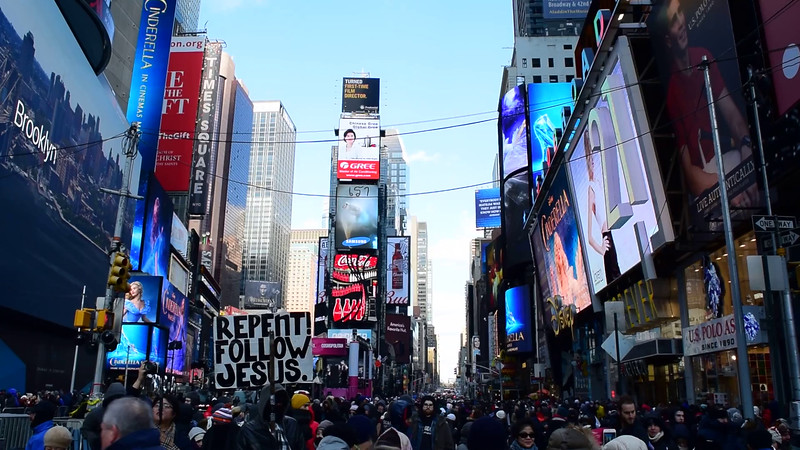Times Square New Years Eve 2015