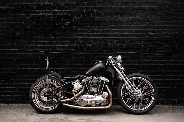 Chris Galley 1959 Harley-Davidson